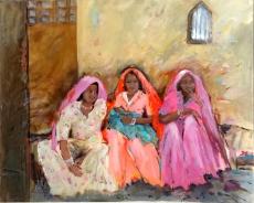 Junge Frauen in Rajasthan I