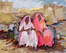 Junge Frauen in Rajasthan II