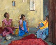 Junge Frauen in Rajasthan III