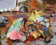 Müllsammlerinnen in Bihar