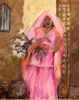 Braut in Rajasthan