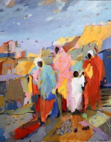 Markt in Tamil Nadu II