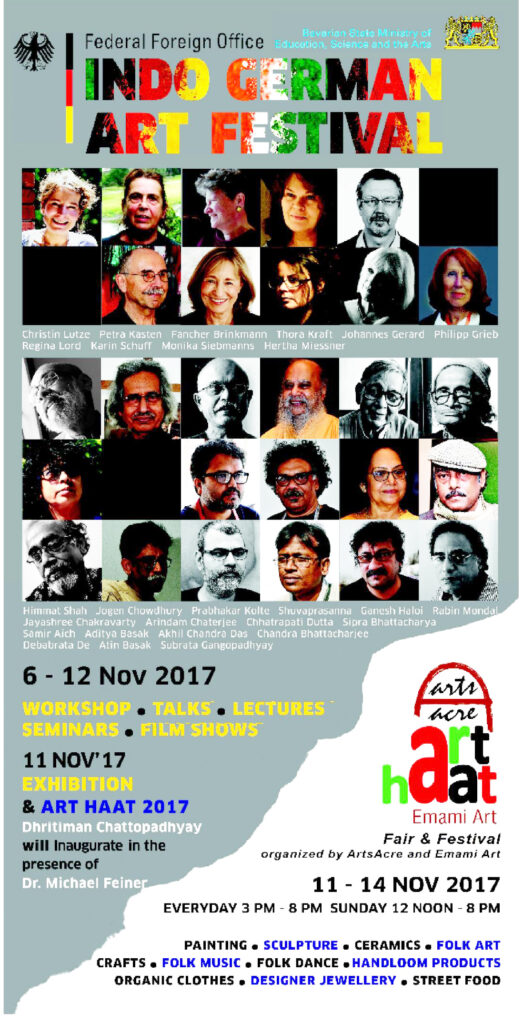 Indo-German-Art-Forum-Kalkutta-2017